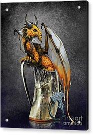 Mead Dragon Acrylic Print