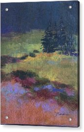 Meadow At Dusk Acrylic Print