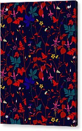 Meadow Field Acrylic Print by Sholto Drumlanrig