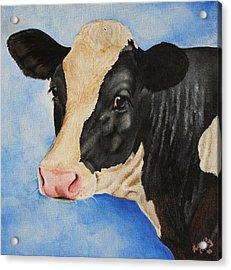 Meadow Acrylic Print by Laura Carey