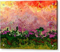 Meadow Morning Acrylic Print