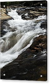 Meadow Run Water Slide 2 Acrylic Print
