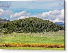 Meagher County Landscape Acrylic Print by Todd Klassy