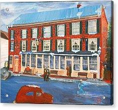 Mealeys Tavern Acrylic Print by Gloria Condon