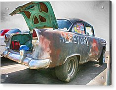 Mean Streets Acrylic Print by Michael Cleere