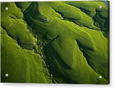 Meandering Valleys Of Texaco Hill Acrylic Print by Jim Richardson