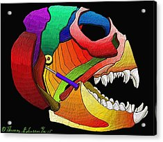 Mechanic Fishhead Acrylic Print