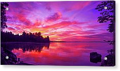 Meddybemps Sunrise Acrylic Print by ABeautifulSky Photography