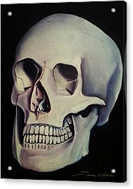 Medical Skull  Acrylic Print by James Christopher Hill