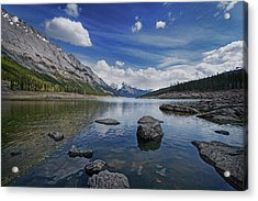 Medicine Lake, Jasper Acrylic Print