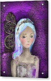 Medieval Angel Acrylic Print by Yazmin Basa