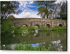 Medieval Bridge Acrylic Print
