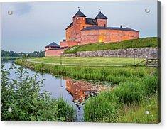 Medieval Castle Acrylic Print by Teemu Tretjakov