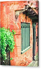 Medieval Cottage Acrylic Print by Tom Gowanlock