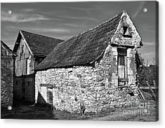 Acrylic Print featuring the photograph Medieval Country House Sound by Silva Wischeropp