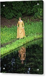 Medieval Lady, Barefoot Acrylic Print