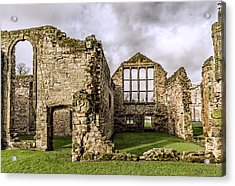 Medieval Ruins Acrylic Print