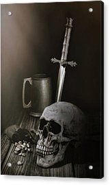Medieval Still Life Acrylic Print by Tom Mc Nemar