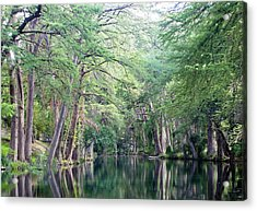 Medina Creek In Summer Acrylic Print
