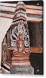 Meditating Buddha 10 Acrylic Print