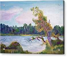 Meditation Lake  Acrylic Print