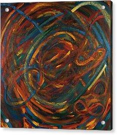 Meditation Painting #2 Acrylic Print