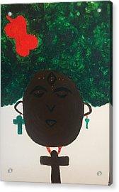Meditation Queen  Acrylic Print