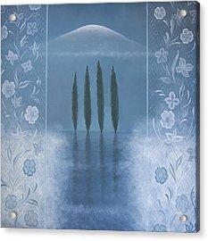 Meditation Acrylic Print by Tone Aanderaa