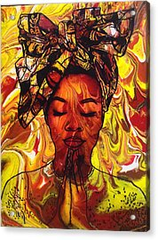 Meditations  Acrylic Print