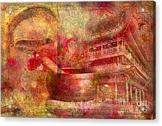 Meditative Montage 2015 Acrylic Print