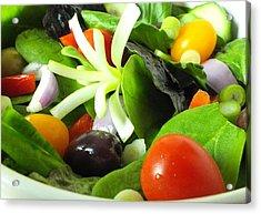 Mediterranean Salad Acrylic Print