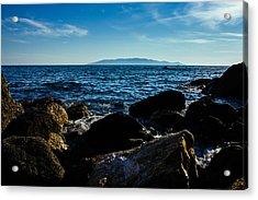 Mediterranean Sea - Argentario Acrylic Print by Cesare Bargiggia