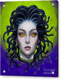 Medusa 8 Acrylic Print by Frank Bonnici