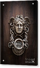 Medusa Head Door Knocker Acrylic Print