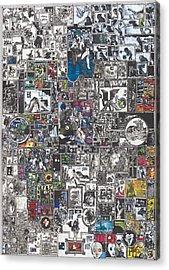 Medusa Maze Acrylic Print