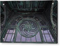 Medusa Window Carousel House Asbury Park Nj Acrylic Print by Terry DeLuco