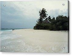 Meedhupparu Beach Acrylic Print