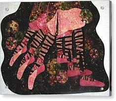 Meet Me At The Bar Acrylic Print by Lynda K Boardman