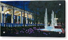 Meet Me At The Muny Acrylic Print