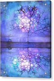 Meet Me At Twilight Acrylic Print