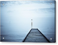Meet Me On The Other Shore Acrylic Print by Livia Lazar