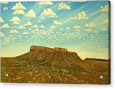 Meet The Posse At Little Crooked Mesa Acrylic Print