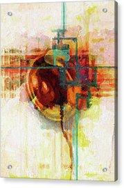 Meeting Point Acrylic Print by Lutz Baar