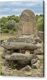 Megalithic Tomb Of Giants In Sardinia Acrylic Print