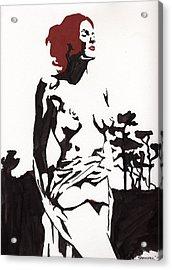 Megan - Sunlight Acrylic Print