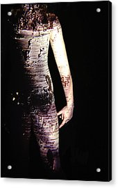 Megan Acrylic Print by Arla Patch
