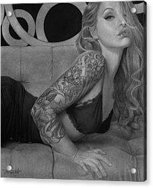Megan Renee Acrylic Print