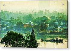 Mekong Morning Acrylic Print