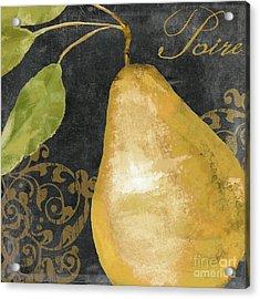 Melange French Yellow Pear Acrylic Print