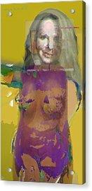 Melanie II Acrylic Print by Noredin Morgan
